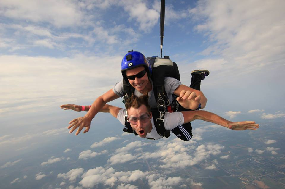 Skydiving image